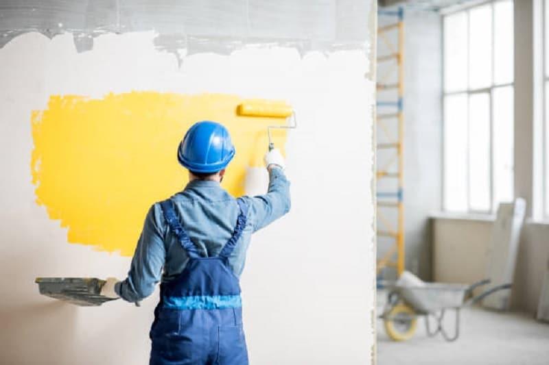 Réfection de peinture en location qui paie