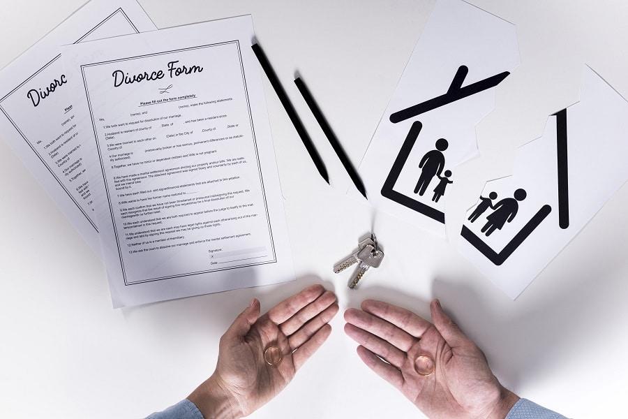 partage de bien après divorce