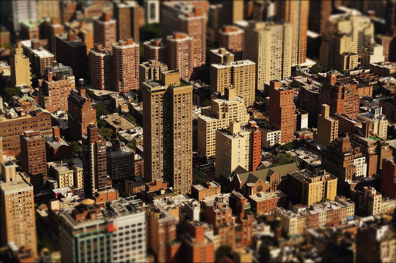 Des immeubles
